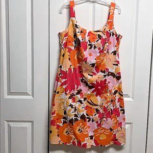 Madison Leigh Dress Size 18W Floral Print